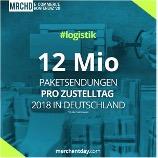 MRCHD 12 Mio Pakete pro Zustelltag